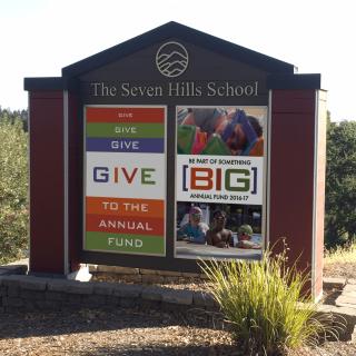 Seven Hills School – Signage